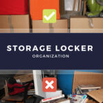 Organization of your storage unit