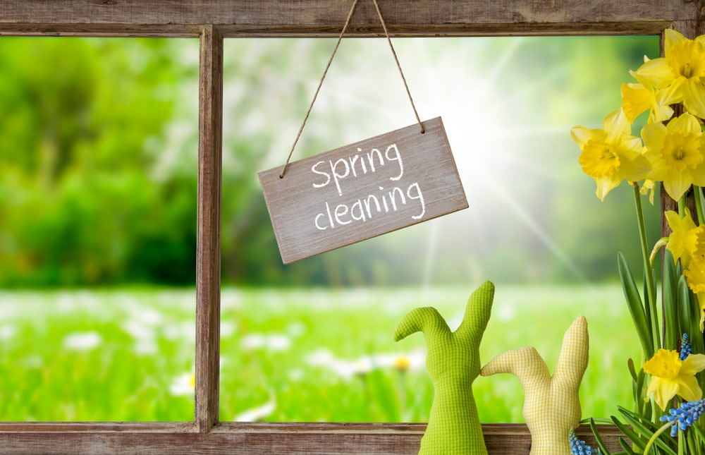 Essential spring cleaning tips